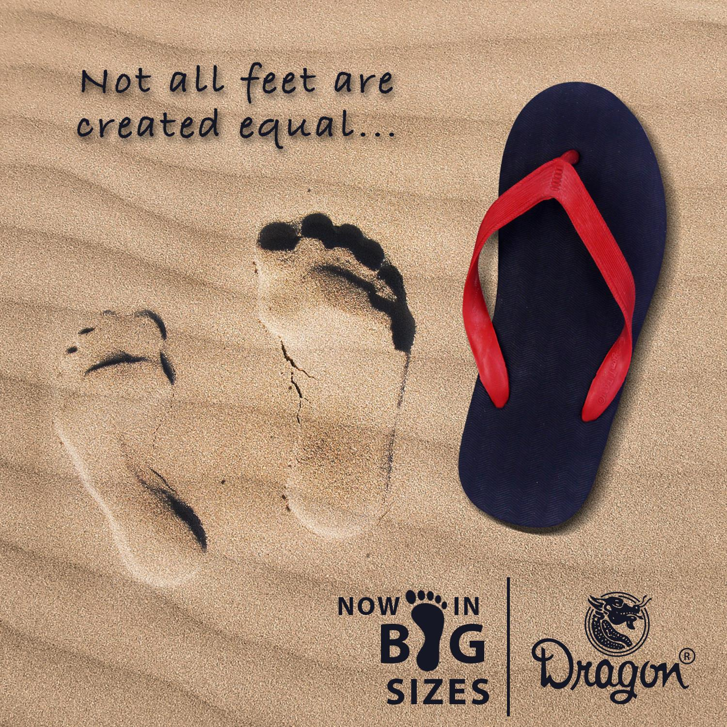 Not all Feet are created Equal