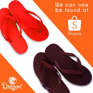 Dragon Slippers now available in Shopee
