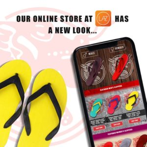 Our Online Store at LAZ has a NEW look!